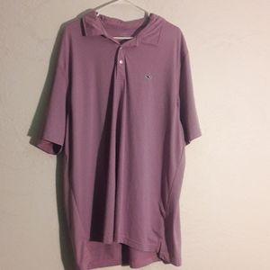 Vinyard vines men's pink polo striped tee shirt